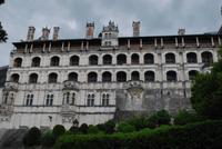 Renaissance-Fassade Schloss von Blois