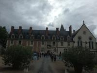 031. Schloss von Blois - Eigangsfassade
