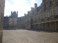 Fontainebleau, Ovaler Hof