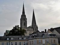 erster Blick auf Chartres