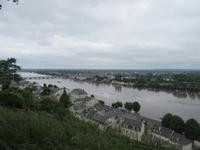 Blick vom Schlosshügel Montsoreau