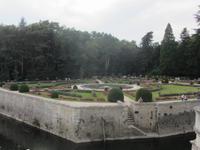 Gärten vom Schloss Chenoceau