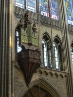 Schwalbennestorgel aus dem 15. Jahrhundert
