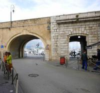Antibes, Stadtmauer