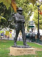 Cezanne Denkmal Aix