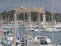 Festung und Hafen Antibes
