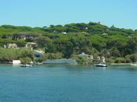 Saint-Tropez baie des Canoubiers La Madrague Villa Brigitte Bardot