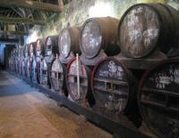 Calvadoslager im Chateau