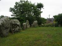 Carnac Steinreihen von Le Ménec