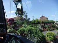 Blühende Normandie