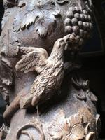 Guilmileau, Taufbecken, Detail