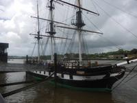 Dunbrody-Schiff in New Ross