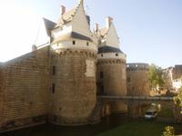 Schloß der bretonischen Herzöge in Nantes