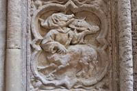 Rouen Kathedrale, Detail