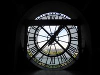 Musee d´Orsay - Blick durch Uhr