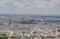 Tour Montparnasse - Blick Richtung Quartier Latin