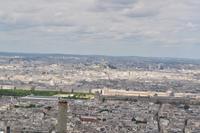 Tour Montparnasse - Blick Richtung Louvre und Sacré-Cœur