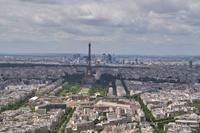 Tour Montparnasse - Blick Richtung Eiffelturm