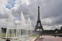 Trocadero - Blick zum Eiffelturm