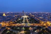 Ein Abend auf dem Eiffelturm