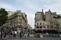 Paris Tag 2 Chaotische Straßenverhältnisse