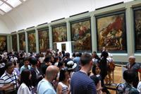 Paris Tag 3 Louvre, Rummel um Mona Lisa