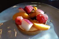 Paris Tag 4 Abendessen auf dem Eiffelturm, Tartelette aux fruits