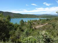 am Lac de St. Cassien