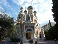 die russisch-orthodoxe Kirche in Nizza