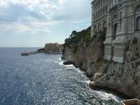 das ozeanografische Museum liegt direkt am Meer
