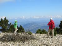 Aufstieg auf den Mont Ventoux