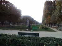in den Gärten am Luxembourg
