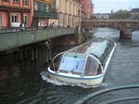 auch in Strasbourg kann man eine Bootstour machen