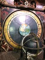Astronomische Uhr. Anzeige Pfingstmontag