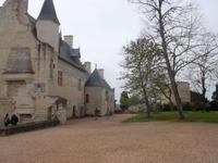 Palast der Burg Chinon