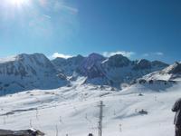 Hier wurde sogar noch Ski gefahren