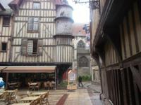 Platz in Troyes nahe der Templerkirche