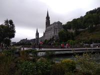 Heiliger Bezirk in Lourdes