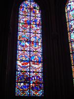 Tours, Glasmosaikfenster, Martinsfenster