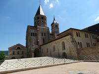 Cluny, Überreste der Basilika