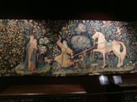 Beaune, Hotel-Dieu, Wandteppich der tausend Blüten (Eligius-Legende)