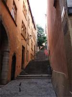 Vieux Lyon. Montée