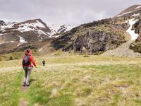 Aufstieg zum Bergsee Estany