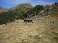 Schutzhütte Refugio de la Vall 2160m