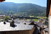 Blick über die Stadt von Ordino
