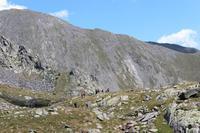 Abstieg in den Pyrenäen