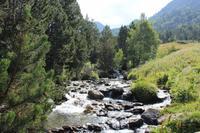 Fluss im Sorteny Nationalpark