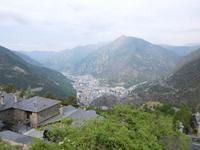 Blick über Andorra la Vella