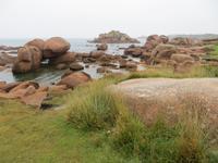 rosa Granitküste bei Tregastel