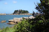 8.Tag, Wanderung an der Rosa Granit Küste, Château de Costaérès